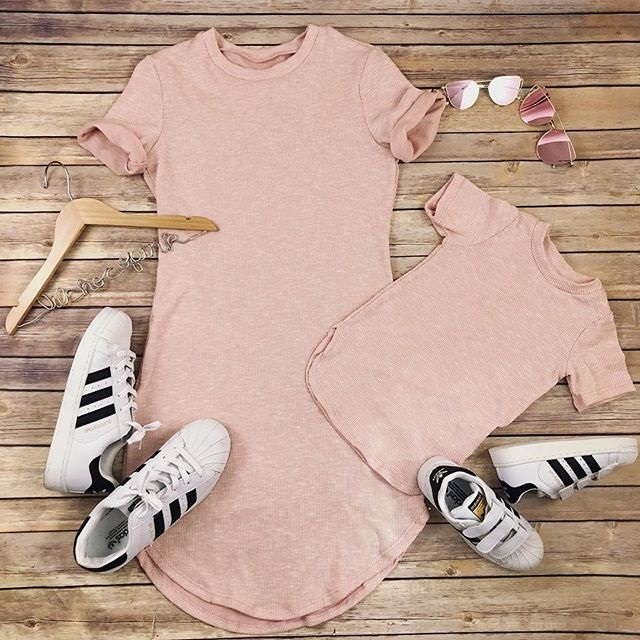 HTB1L3cjc56guuRjy1Xdq6yAwpXan 2019 Summer Mom Daughter Short Sleeve T shirt Dress Family Matching Outfits Baby Kid Women Party Dresses Cotton Clothes Dropship