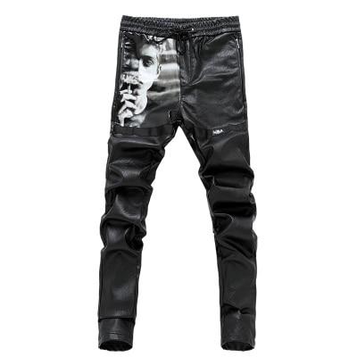 Pantalones Diseñador De 36 28 905 Vaqueros Hombres Discotecas tamaño Impreso Casual Más Ocasionales 903 Pu Moda Delgados 2016 Nuevo 902 YFqxwv
