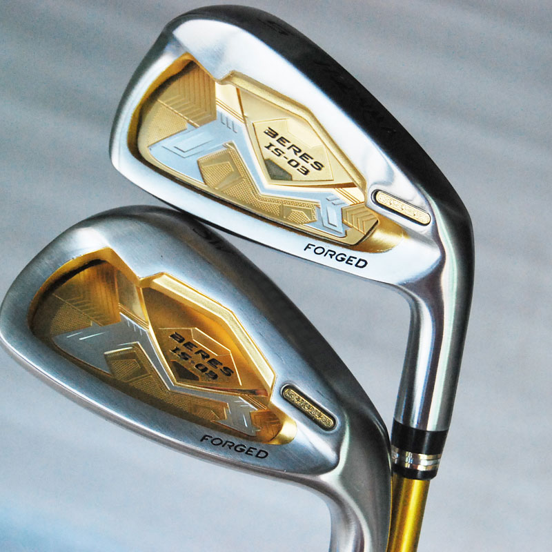 Подробнее о New Cooyute Golf Clubs HONMA golf is-03 3Star Golf irons Set 5-11.aw.sw.Club Graphite Golf Shaft R or S flex Free shipping cooyute new mens golf clubs honma is 02 5 star irons clubs set 4 11 aw sw golf irons with graphite golf shaft free shipping