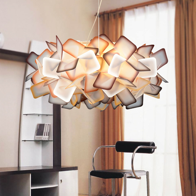 Creative Acrylic Led Ceiling Light Circular Bedroom Lamp Cafe Modern Scandinavian Lamps 110v 220v