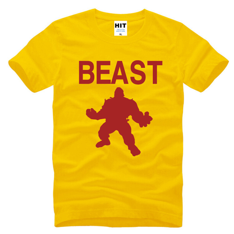 Beast Mode Cross Fit MMA Fitness Mens Men T Shirt T-shirt 2016 Short Sleeve O Neck Cotton Novelty Tshirt Tee Camisetas Masculina