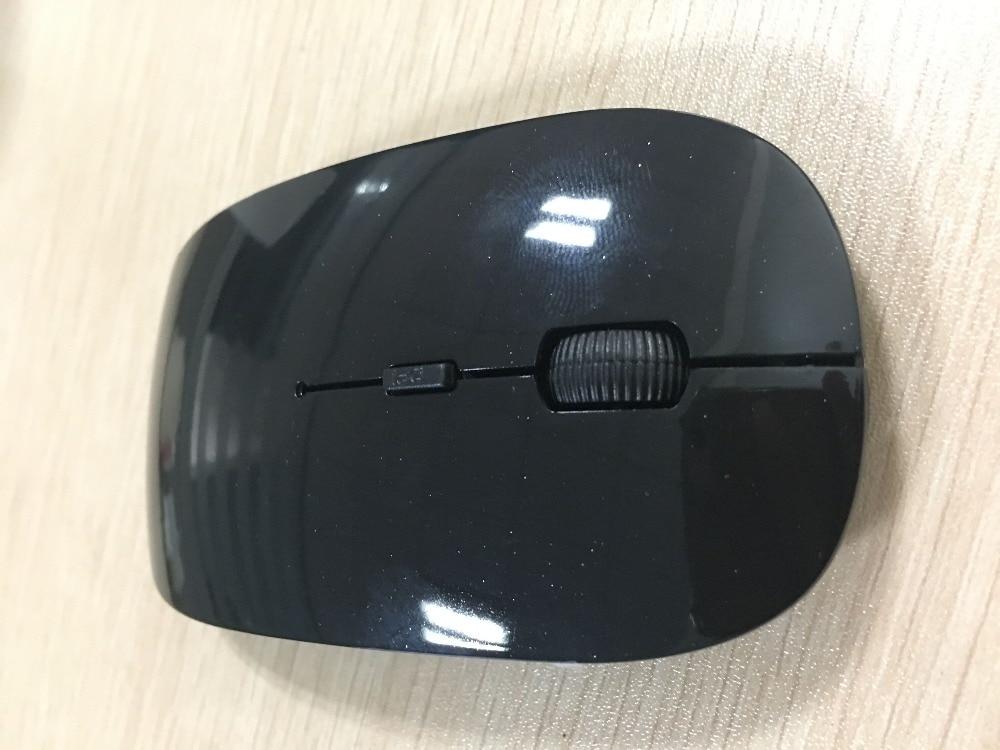 Lapsaipc ультра тонкий usb Беспроводной silent Мышь Slim приемник для Android планшет Apple Тетрадь портативных ПК Мощность переключатель Мышь