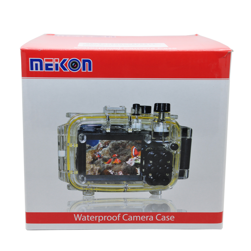 Meikon 40m 130ft Underwater Waterproof Camera Housing Kit for Sony A7 A7r A7s 28 70mm lens in Sports Camcorder Cases from Consumer Electronics