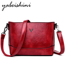 купить 2019 Female Messenger Bags Solid Color Women Soft Leather Shoulder Bag Sac A Main Vintage Crossbody Bags For Women Flap Bag New по цене 1332.58 рублей