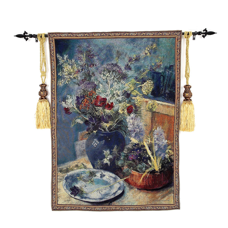 Decorative Wall Hanging Tapestry : Cm belgium art wall tapestry hanging moroccan
