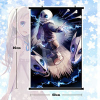 Hot Game Undertale Sans Poster Wall Scroll Mural Home Decor Holiday Gift 80x60cm