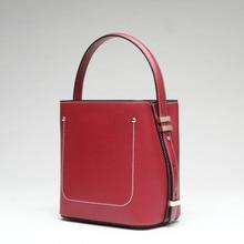 High-quality Brand Luxury Handbag Women Bags Designer Shoulder Bucket Bag Women Fashion Bags 2019  Female Leather Crossbody Bags стоимость