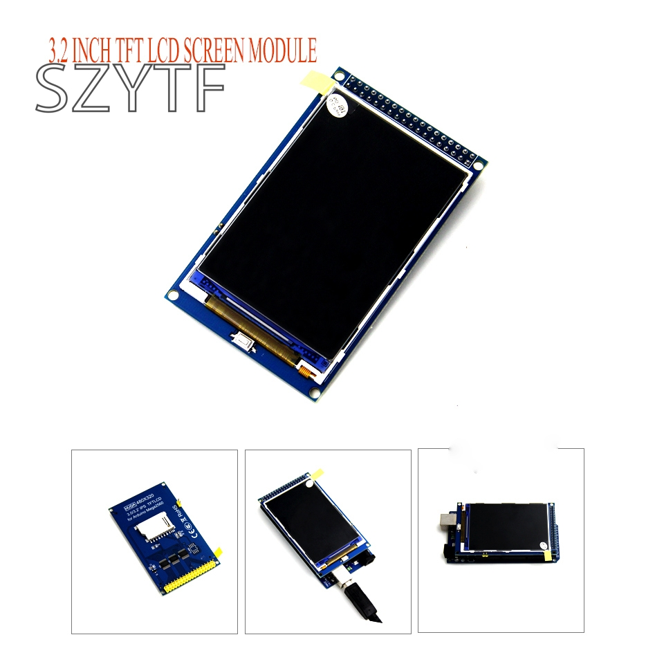 3.2 inch TFT LCD screen module Ultra HD 320X480 for  MEGA 2560 R3 Board DIY3.2 inch TFT LCD screen module Ultra HD 320X480 for  MEGA 2560 R3 Board DIY
