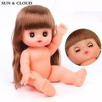 1 Cái Các Baby Doll 25 cm Cô Gái Chơi Đồ Chơi Mô Phỏng Keo Chơi Nhà Khá Naked Bé