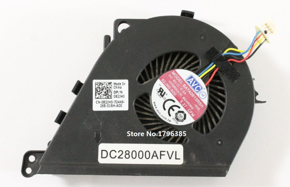SSEA New original Laptop CPU Cooling <font><b>Fan</b></font> for <font><b>Dell</b></font> <font><b>Latitude</b></font> <font><b>E5430</b></font> <font><b>FAN</b></font> DP/N:082JH0 image