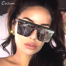 Cool One Piece Sunglasses for Women 2020 New Luxury Brand Ov