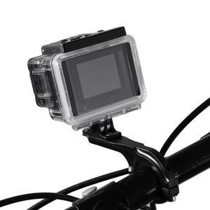 Image 3 - Alüminyum alaşım bisiklet bisiklet gidon Seatpost kelepçe dağı Gopro Hero 4 3 5 Xiaomi Yi 4K SJCAM kamera bisiklet klip kiti