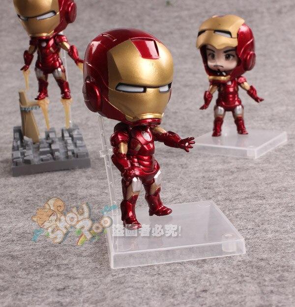 ФОТО Marvel Comics The Avengers Iron Man 3pcs/set High-quality PVC Action Figure
