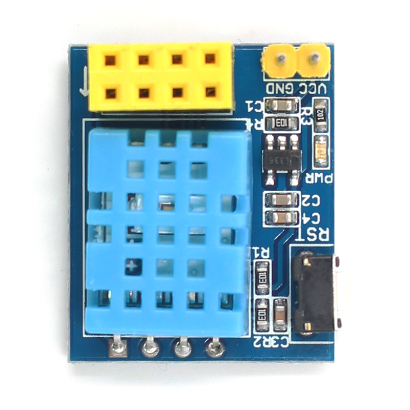 ESP8266 ESP-01S DHT11 (Temperature and Humidity)