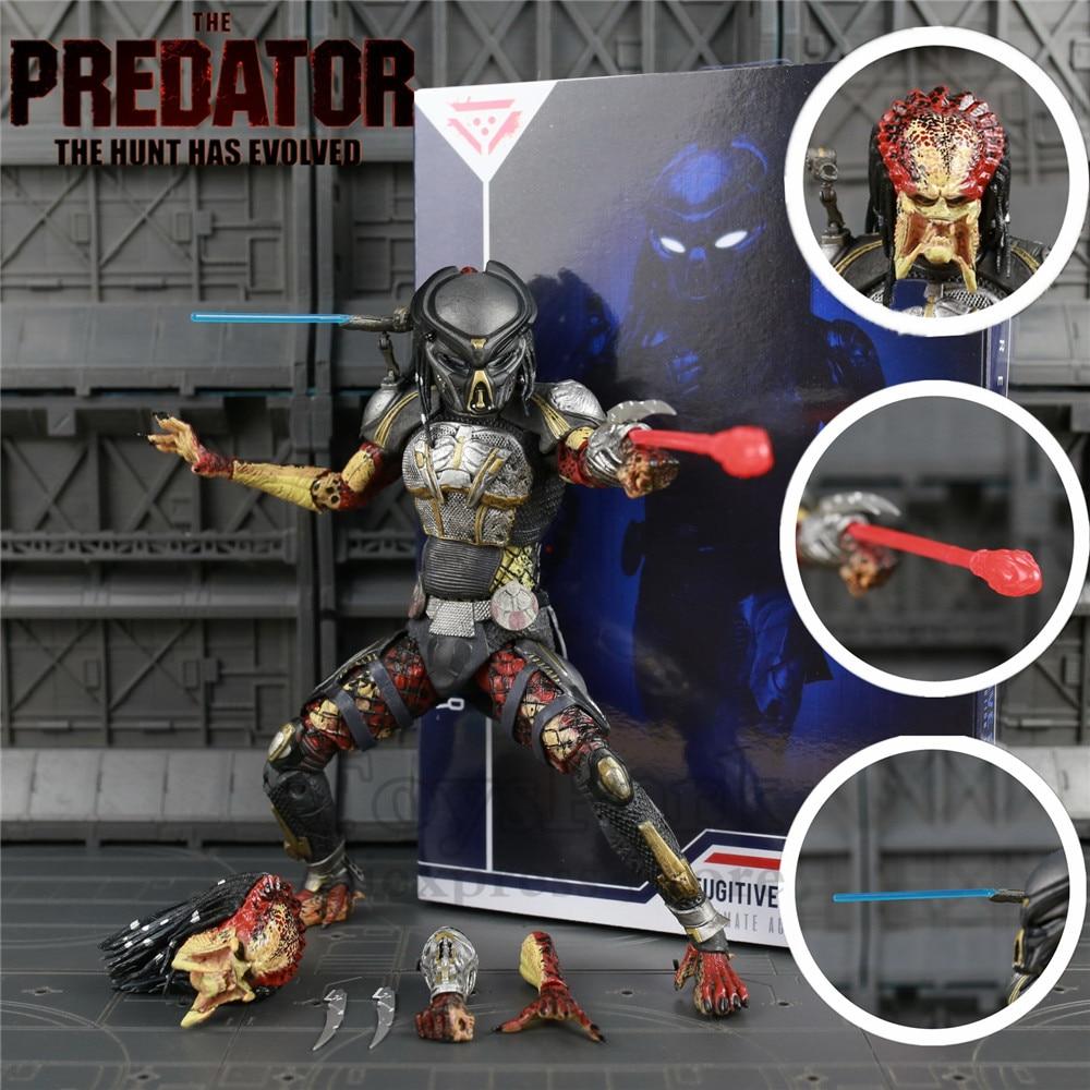 Neca Predator Ultimate Fugitive 7 Scale Action Figure Official 2018