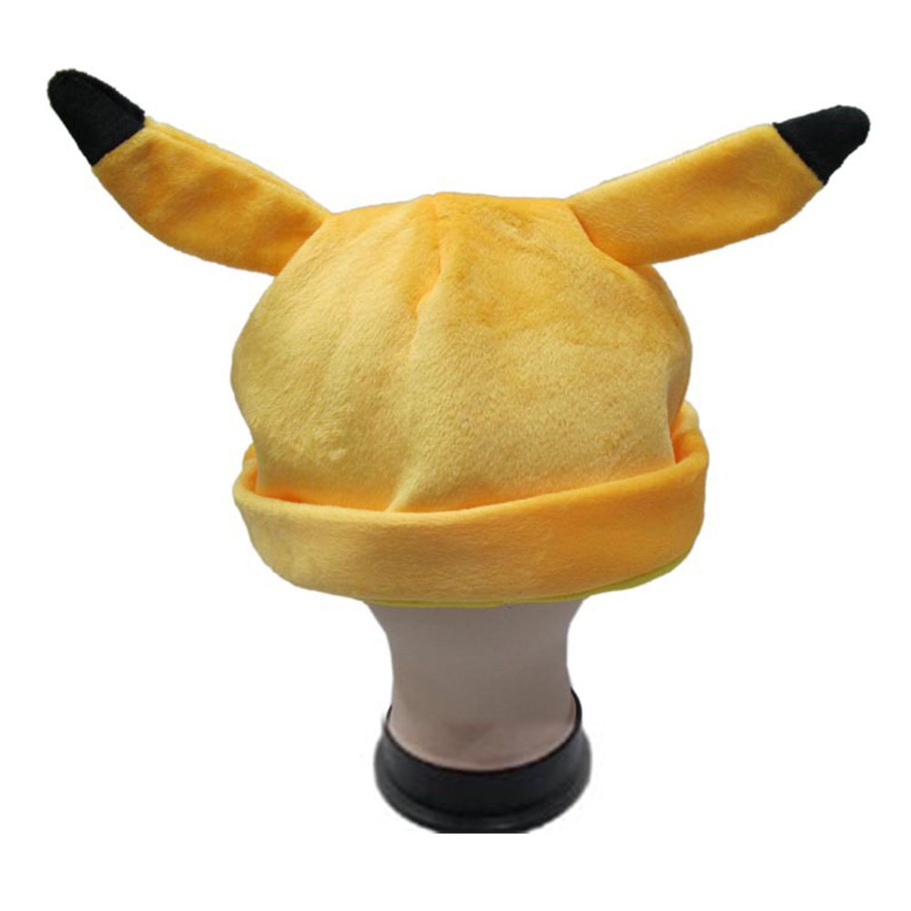Costumes & Accessories Japanese Anime Adult Kids Pokemon Pikachu Mimikyu Plush Hat Cosplay Custome Props Accessories Cartoon Warm Cap Headwear Hat Boys Costume Accessories