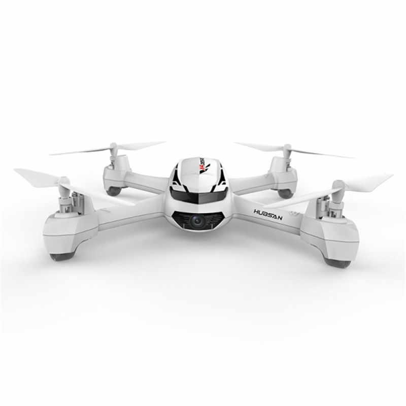 オリジナルhubsan H502S X4 5.8 グラムfpv 720 1080p hdカメラでgps高度 1 キー · リターンヘッドレスモードrc quadcopter自動ポジショニング