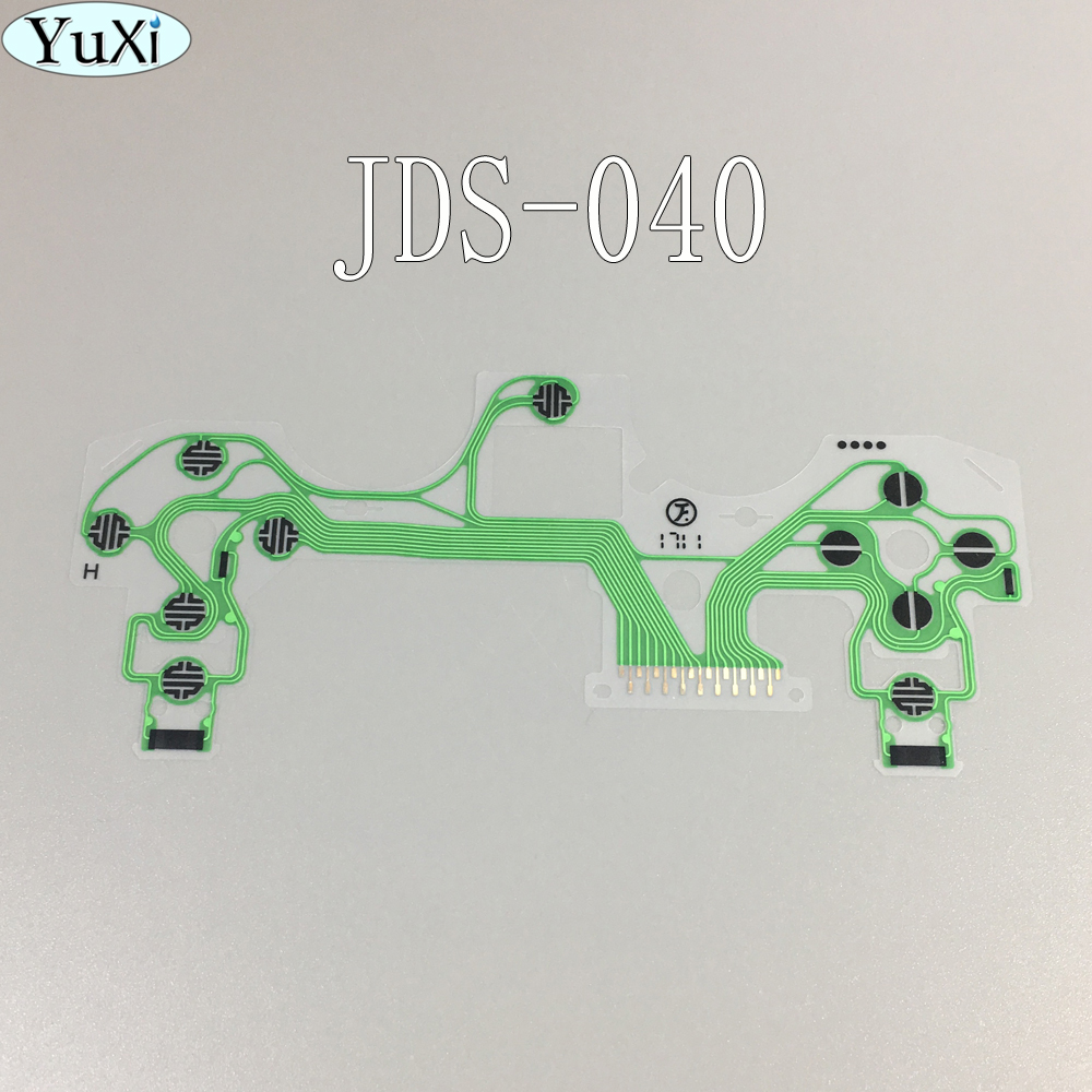 1pcs/lot New Conductive Film Keypad flex Cable Ribbon Circuit Board for SONY Dualshock 4 Pro PS4 Pro JDS 040 JDM-040 Controller