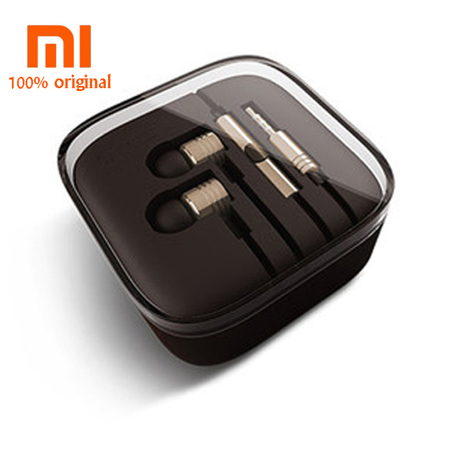 Original XIAOMI piston 3 xiomi Mi Headset Earphones With Remote & Mic For Phone Mi4 Mi3 Hongmi Note Retail Box fone de ouvido