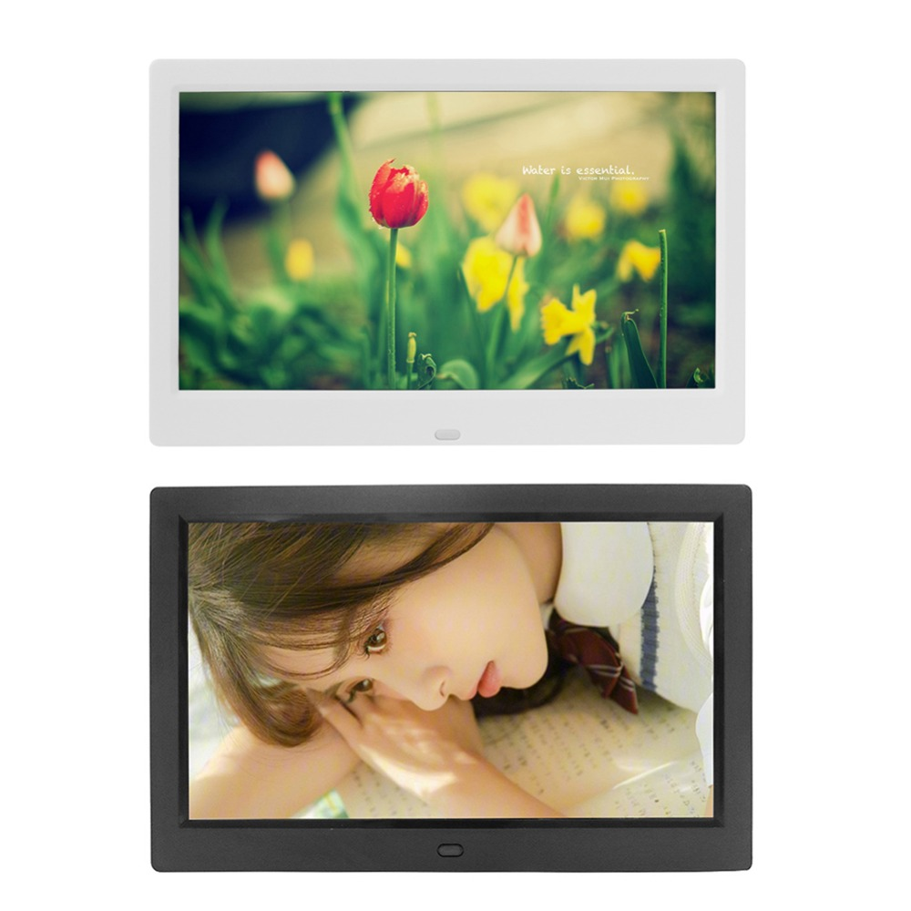 10Inch Digital Photo Frame Electronic Picture Player Movie Album Dispaly 1024 600 Electronic Album Picture Music