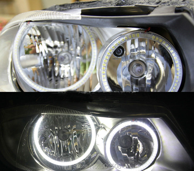 Smd Halo Rings For Bmw E90 Non Projector 2005 2008led