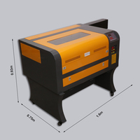 China in stock 4060 80w 100w Laser Cutter CO2 Laser Engraving Machine for Wood Acrylic Rubber