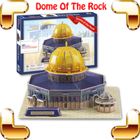 Yeni Yıl Hediye Rock 3D Bulmaca Modeli Yapısı Kubbe DIY Din Camii Bulmaca Ünlü Bina Mümin Koleksiyonu