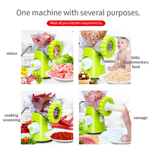 Image 2 - TNTON LIFE New Household Multifunction Meat Grinder High Quality Stainless Blade Home Cooking Machine Mincer Sausage Machine