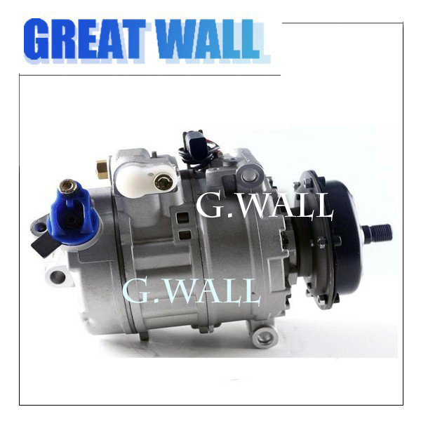 For Car VW TOUAREO PHAETON MULTIVAN TRANSPORTER V VW AC COMPRESSOR 2002 2010 7H0820805H 3D0820805Q 7H0820805F 7H0820805E