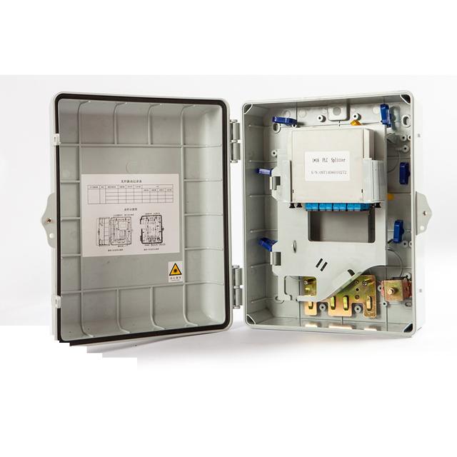24 núcleo de fibra óptica caixa de distribuição caixa de terminação 24 porto fibra óptica FTTH Sub caixa de cabo de fibra óptica por DHL