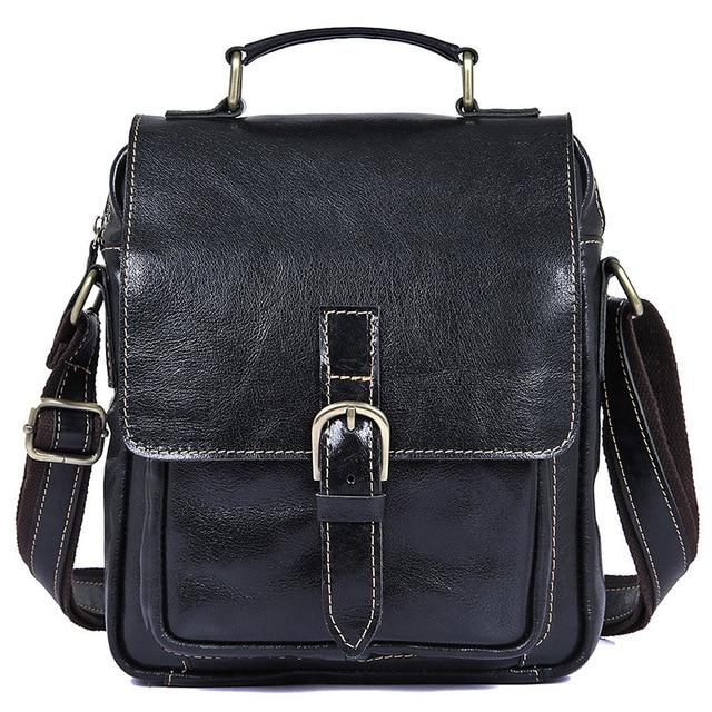 100% Genuine Leather Men Bag Fashion men messenger bags shoulder Business Men s  Briefcase Casual crossbody 9fa7207c49