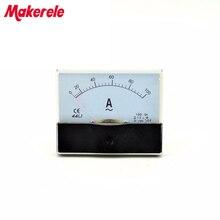 AC 44L1 Analog Ammeter Panel Current Amper Meter Pointer Diagnostic-tool Amperimetro Ampermeter Tester