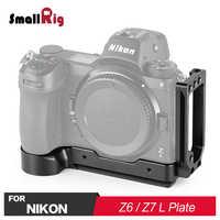 SmallRig lustrzanka cyfrowa Z6 L płytka Quick Release l-wspornik do Nikon Z6 i do aparatu Nikon Z7 z płytą Arca Stlye 2258