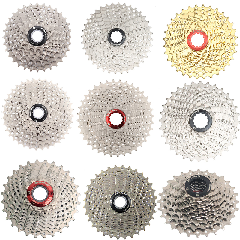 Bicycle <font><b>Cassette</b></font> 8S 9S 10S 11Speed 11-25 11-28 11-32 11-36T Bike Road MTB Freewheel Cogs Sprocket Compatible 105 <font><b>R8000</b></font> R7 image