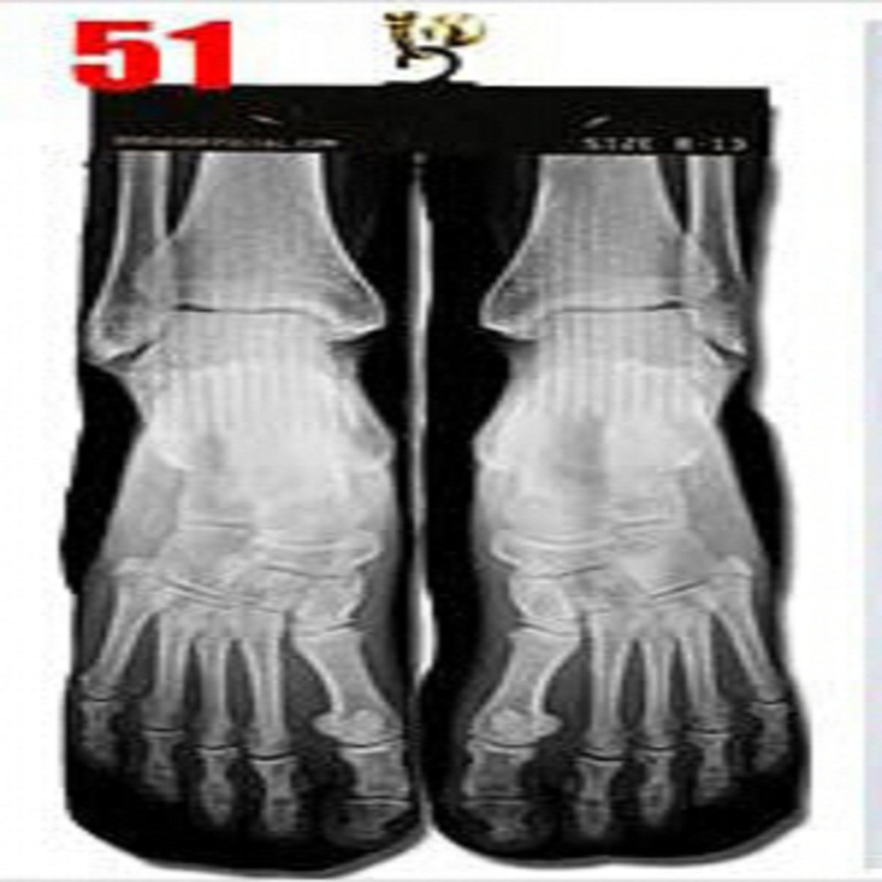 2018 Rushed Sale Socks Men Calcetines Hombre Up To Date Popular 3d Printer Odd Wink Bottom Thick Towel Socks Wholesale Mens