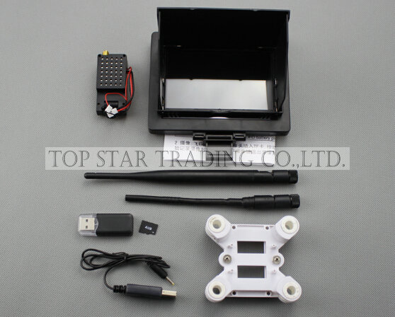 WL V666 RC Quadcopter spare parts FPV Monitor & Camera set  wl v666 RC Drone Helicopter Accessories