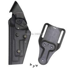 Тактический Airsoft Пистолет Кобура Ipsc Открытый Пояс Пояс Пистолет Кобуры Охотничьи Принадлежности M9 92 96 Черный