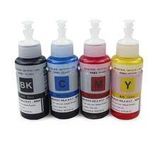4X70 ML GI-490 GI490 GI 490/890/790 dye ink refill kit tanque para canon pixma G1400 G2400 G3400 G1000 G2000 G3000 G1100 impressora