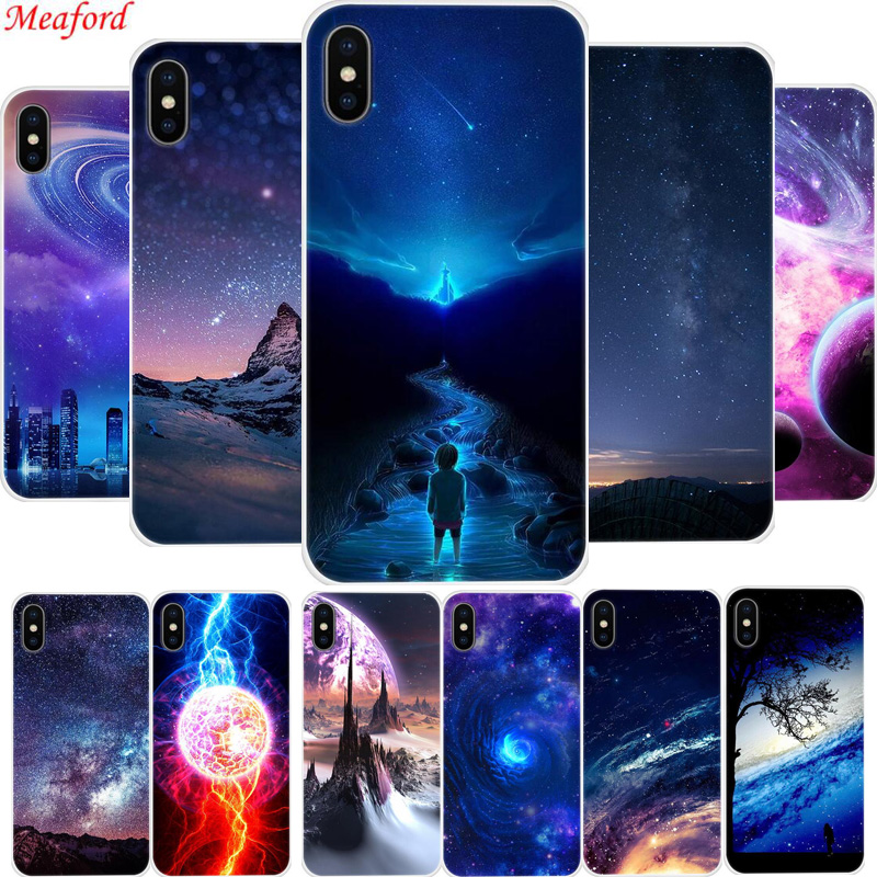 Cover For iPhone XS MAX XR 6s 6 plus 7 8 plus X 10 XS Case Silicone TPU Soft Case For iphone 6 6s 7 8 Plus X XR XS Max Case Star