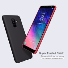 For Samsung Galaxy A6 2018 case NILLKIN Super Frosted Shield Hard Back case + screen protector For Galaxy A6+ A6 Plus 2018 Cover