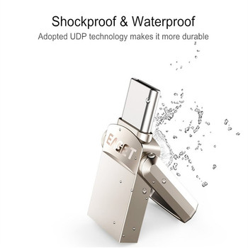 Metal Type-c OTG USB 3.0 U Disk Pendrive Flash Drive for Xiaomi Mobile Phone Tablet PC