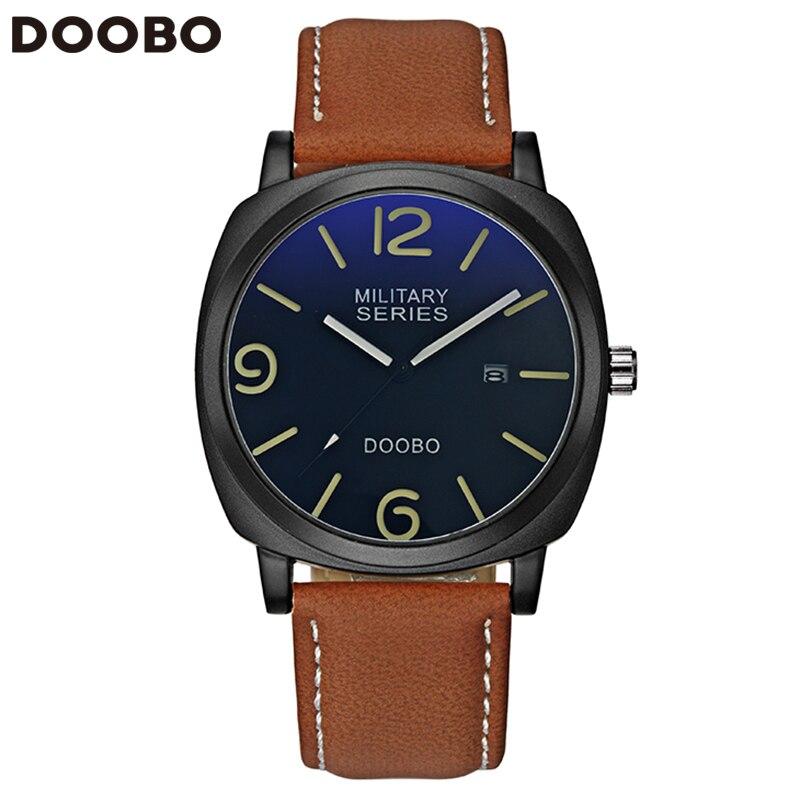 2017 Business Stylish Watch Men Luxury Brand Men's Quartz-watch Clock Men Wrist Watches Relogio Masculino Reloj Hombre DOOBO цена