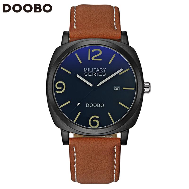 Prix pour 2017 D'affaires Élégant Montre Hommes De Luxe Marque Hommes de Quartz-montre Horloge Hommes Montres Relogio Masculino Reloj Hombre DOOBO