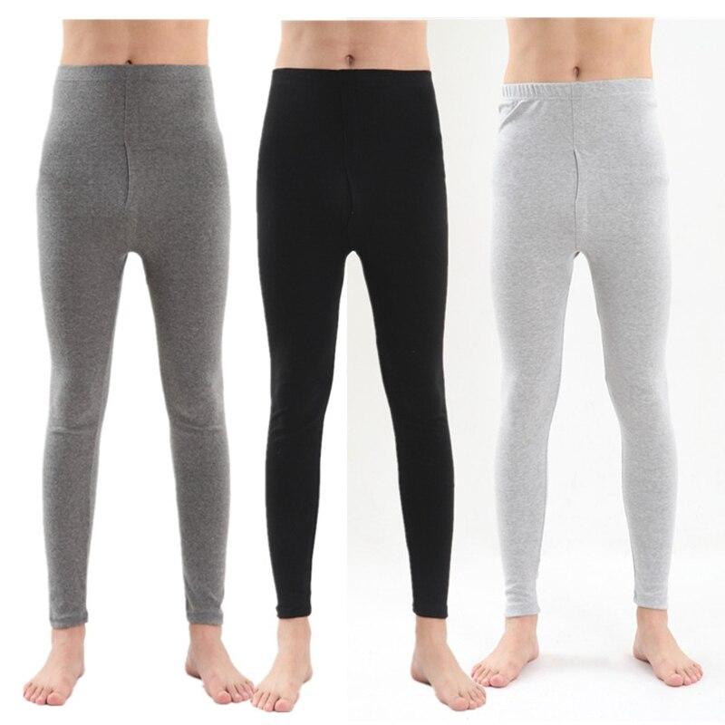Autumn and Winter Style Men leggings Plus size  7XL  high waist Cotton cashmere warm men's Home pajamas  pants