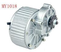 Comprar Potente motor de cepillo de engranaje de 450w CC 24 v, motor de engranaje cepillado de CC, bicicleta eléctrica/motor para triciclo eléctrico, motor de scooter MY1018