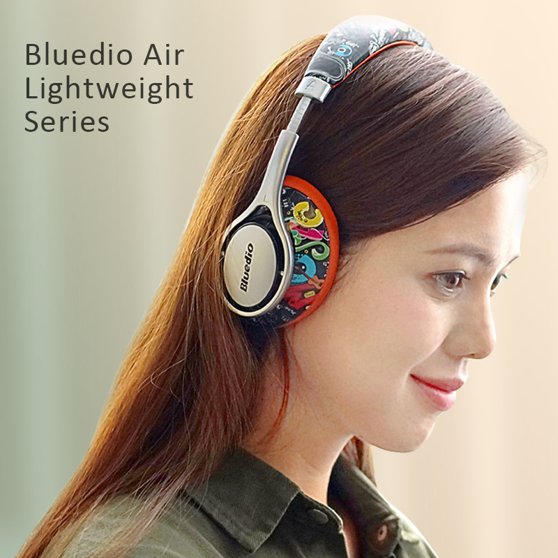 Original Bluedio A2 Air New Model Bluetooth headphone headset Fashionable wireless headphones for music earphone