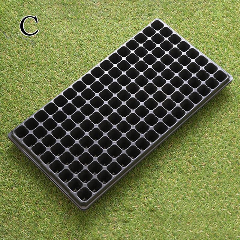 45ef9a44e7a Aliexpress.com: Comprar 72/105/128 células plántulas bandeja de arranque  resistencia germinación planta flor macetas Grow Box propagación para el  jardín de ...