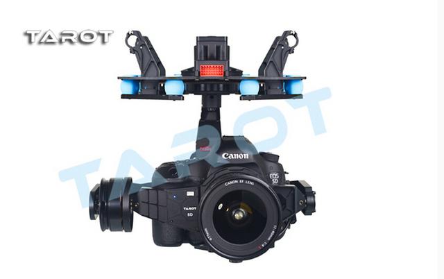 Tarot f14618 5d3 3 eje cardán estabilización tl5d001 diseño de integración para multicopter de fpv 5d mark iii dslr cámara