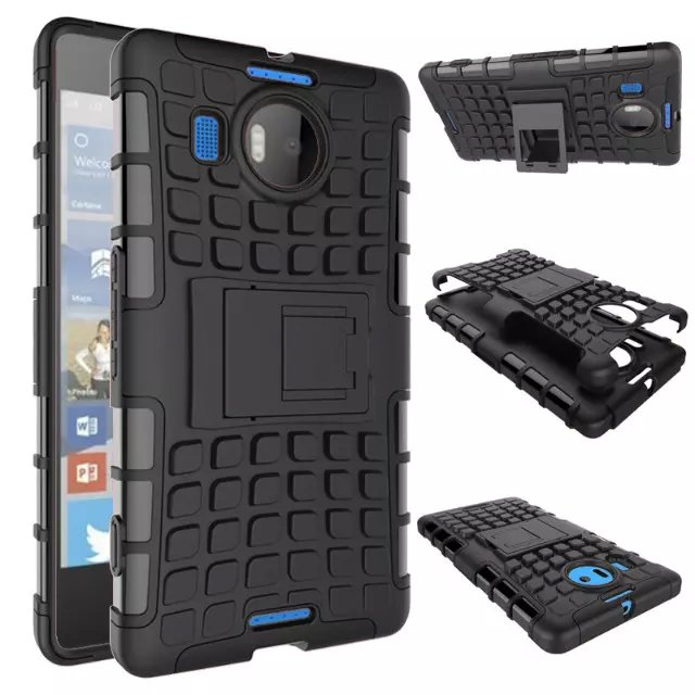 8 Colors Tpu Pc Rugged Heavy Duty Hybrid Case For Microsoft Nokia Lumia 950xl Armor