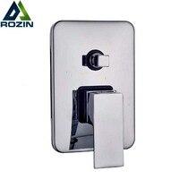 2 Sposoby Prysznic Najlepsza Jakość Plac Prysznic Mixer Kurek Zawór Sterujący Zawór Przełączający Montowany Na Ścianie